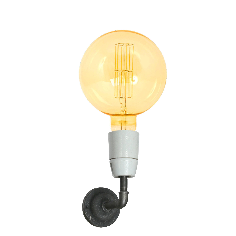 Wall Mounted Bulb Holder. Stunning Diy Industrial Bathroom Light ...