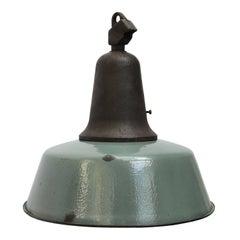 Pertol Enamel Vintage Industrial Cast Iron Pendant Lamp