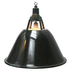 Gray Enamel Vinate Industrial Pendant Lights (2x)