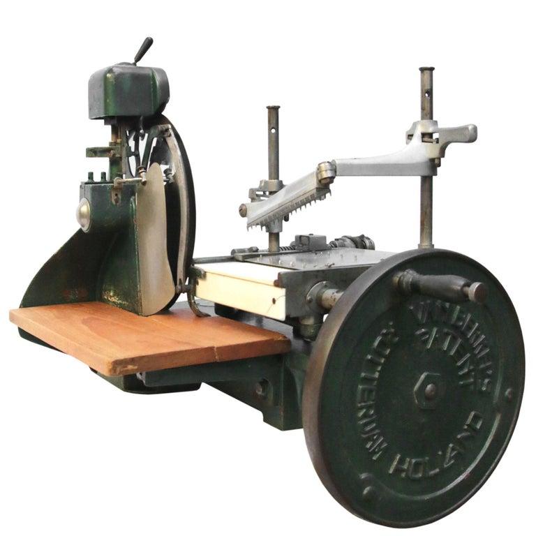Berkel Model 5 Meat Slicing Machine, 1922-1928 Military WO II