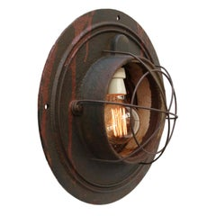 Cast Iron Vintage Industrial Hanging Light