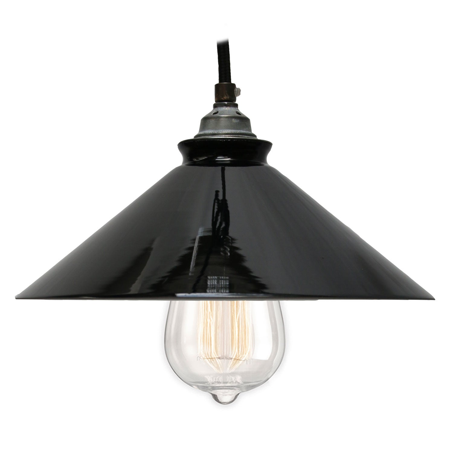 Black Opaline Glass Shades French Pendant Lights