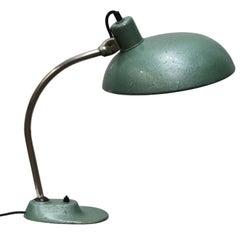 Green Vintage Metal Desk Light