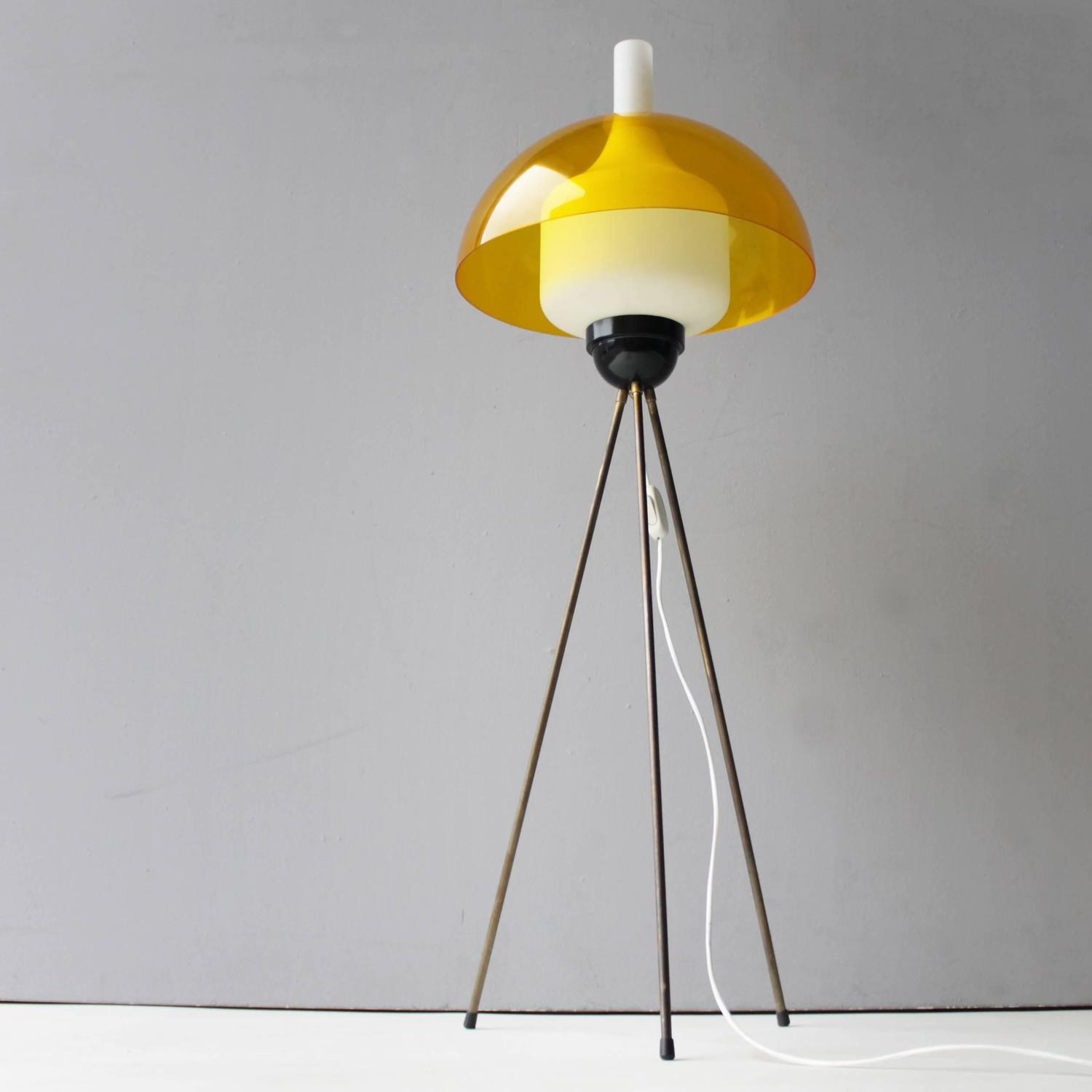 Tripod Floor Lamp By Stilux Italy For Sale At 1stdibs