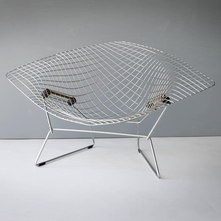 large diamond chair by harry bertoia for knoll for sale at. Black Bedroom Furniture Sets. Home Design Ideas