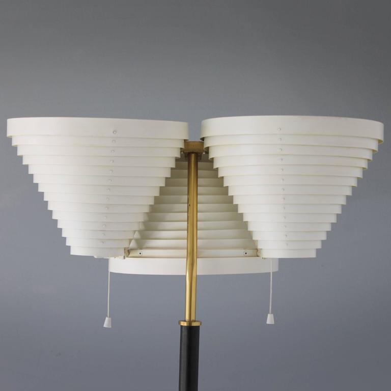 Floor Lamp A809 By Alvar Aalto For Valaisinpaja Oy For