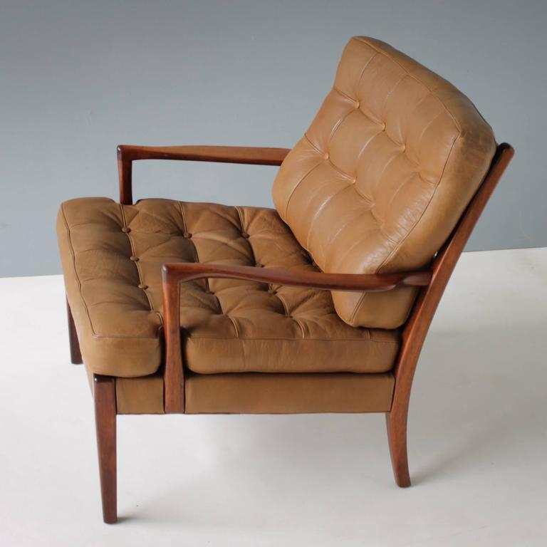 Easy Chair L 246 Ven By Arne Norell For Ab Sweden For Sale