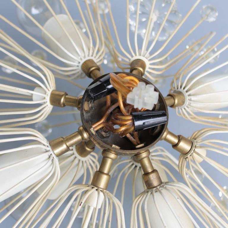 Stejnar Flush Mount 'Dandelion' Chandelier for Rupert Nikoll For Sale 2