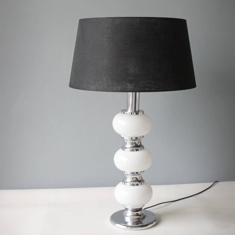 Mid-Century Modern Large Table Lamp by Sölken Leuchten, Germany For Sale