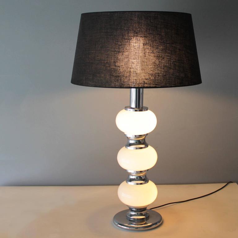 Late 20th Century Large Table Lamp by Sölken Leuchten, Germany For Sale