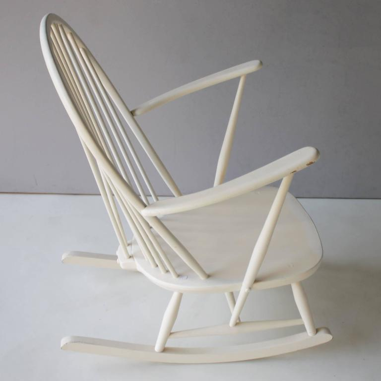 English Rocking Chair by Lucian Ercolani for Ercol For Sale