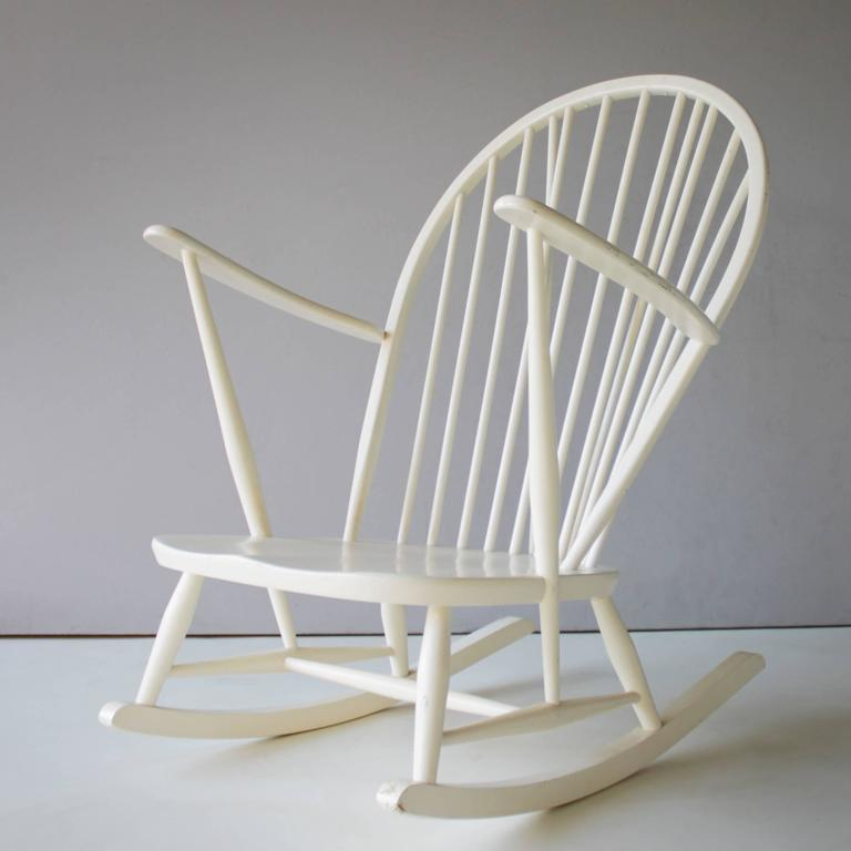 Elm Rocking Chair by Lucian Ercolani for Ercol For Sale