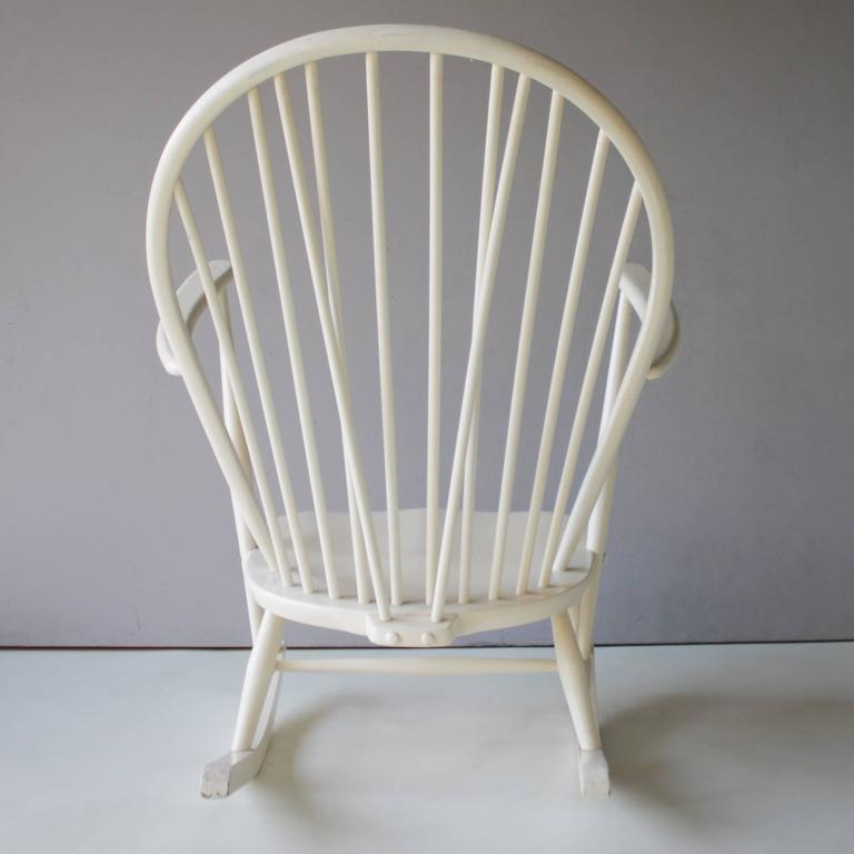 Mid-20th Century Rocking Chair by Lucian Ercolani for Ercol For Sale