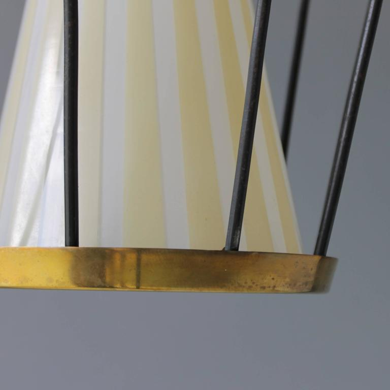 Italian Pendant in the Style of Stilnovo For Sale 2