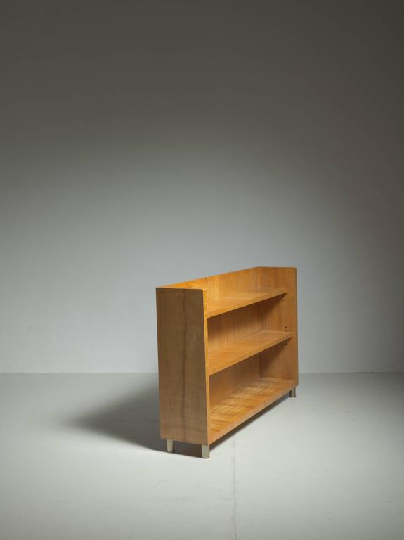 Scandinavian Modern Axel Einar Hjorth Birka Bookcase, Nordiska, Sweden, 1935 For Sale