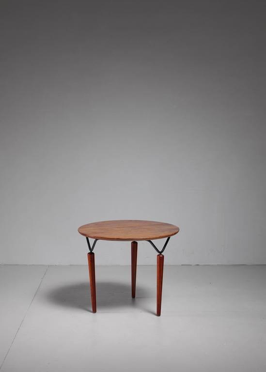 Mid-Century Modern Allan Gould Coffee Table, USA, 1950s For Sale