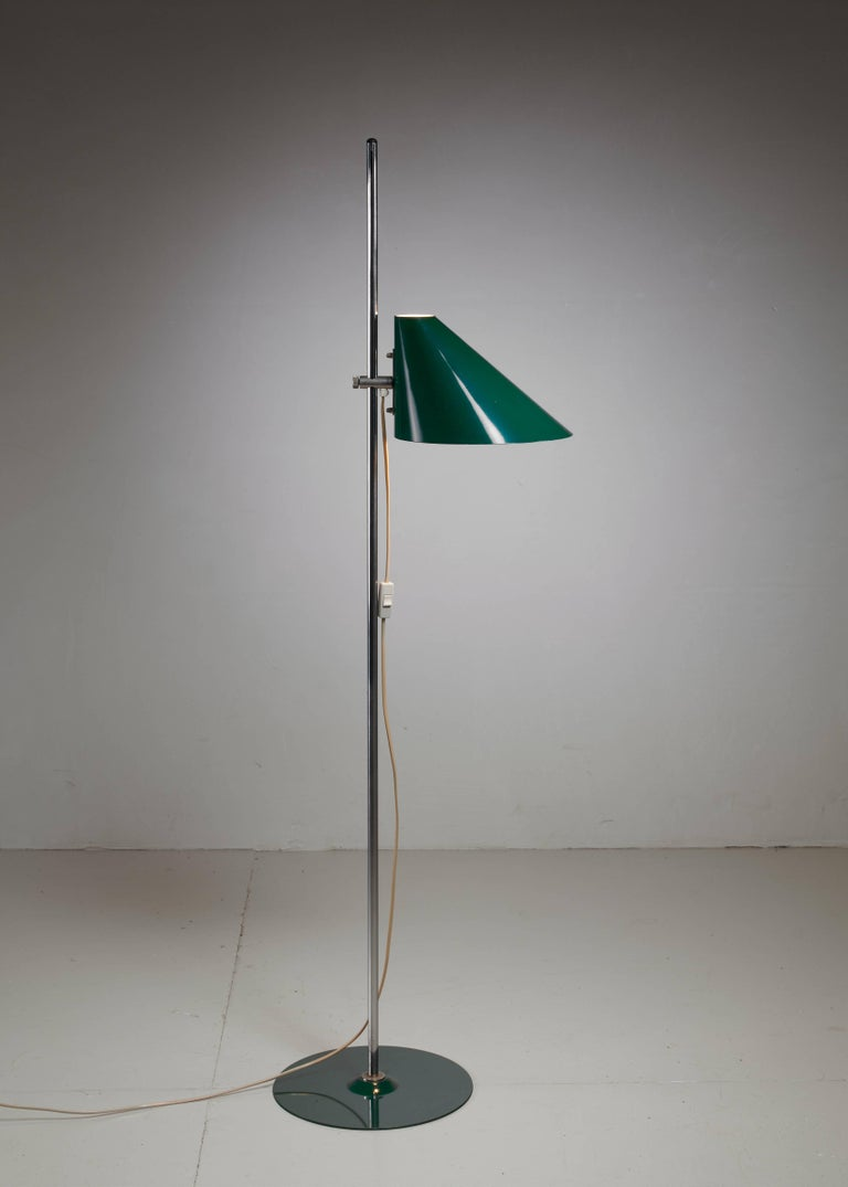 Swedish Hans-Agne Jakobsson Floor Lamp, Sweden, 1960s For Sale