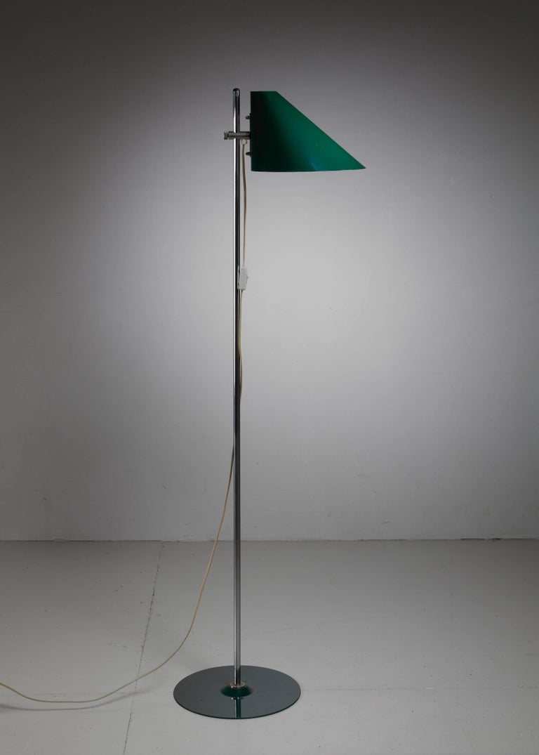 Scandinavian Modern Hans-Agne Jakobsson Floor Lamp, Sweden, 1960s For Sale