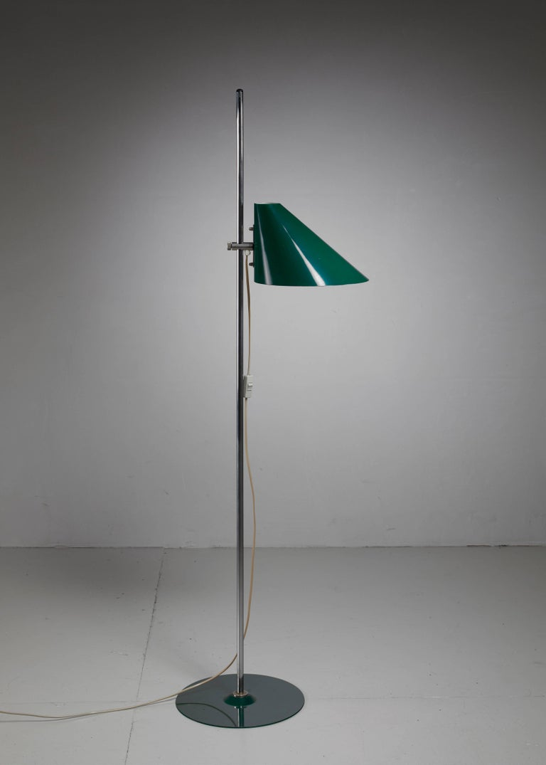 Hans-Agne Jakobsson Floor Lamp, Sweden, 1960s In Excellent Condition For Sale In Amsterdam, NL