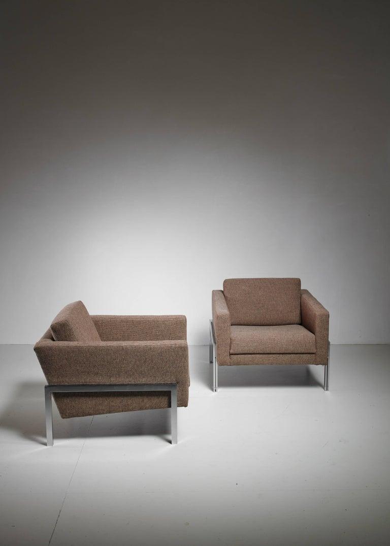 Kurt Thut Pair of Lounge Chairs, Switzerland, 1960s 5