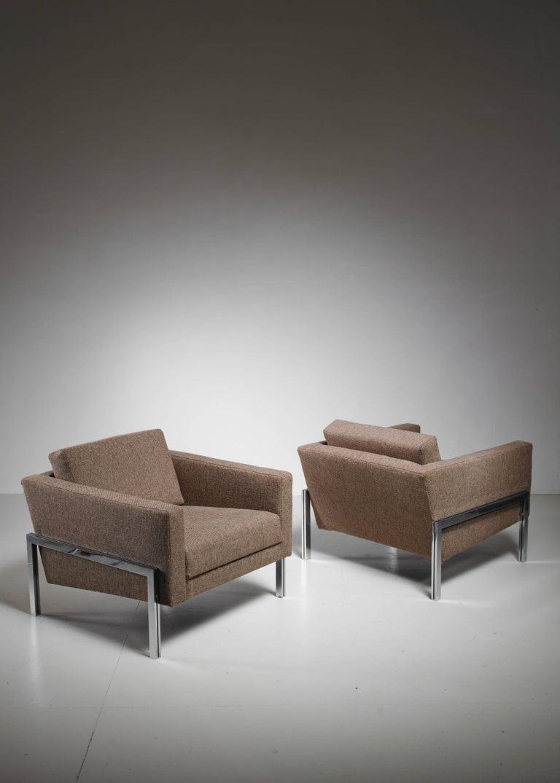 Kurt Thut Pair of Lounge Chairs, Switzerland, 1960s 3