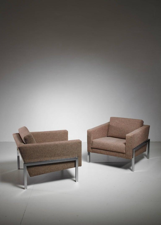 Kurt Thut Pair of Lounge Chairs, Switzerland, 1960s 2