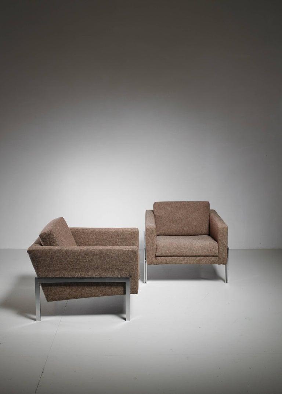 Kurt Thut Pair of Lounge Chairs, Switzerland, 1960s 4