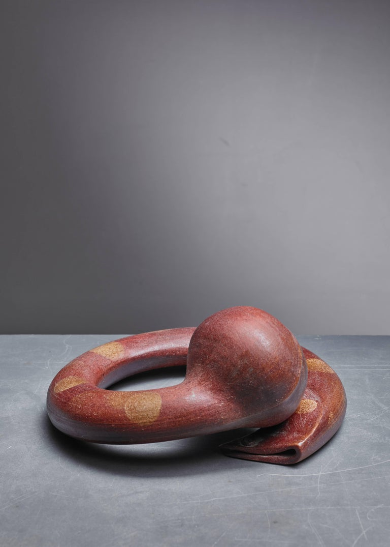 French Franco Agnese Ceramic Sculpture, France, 1960s For Sale
