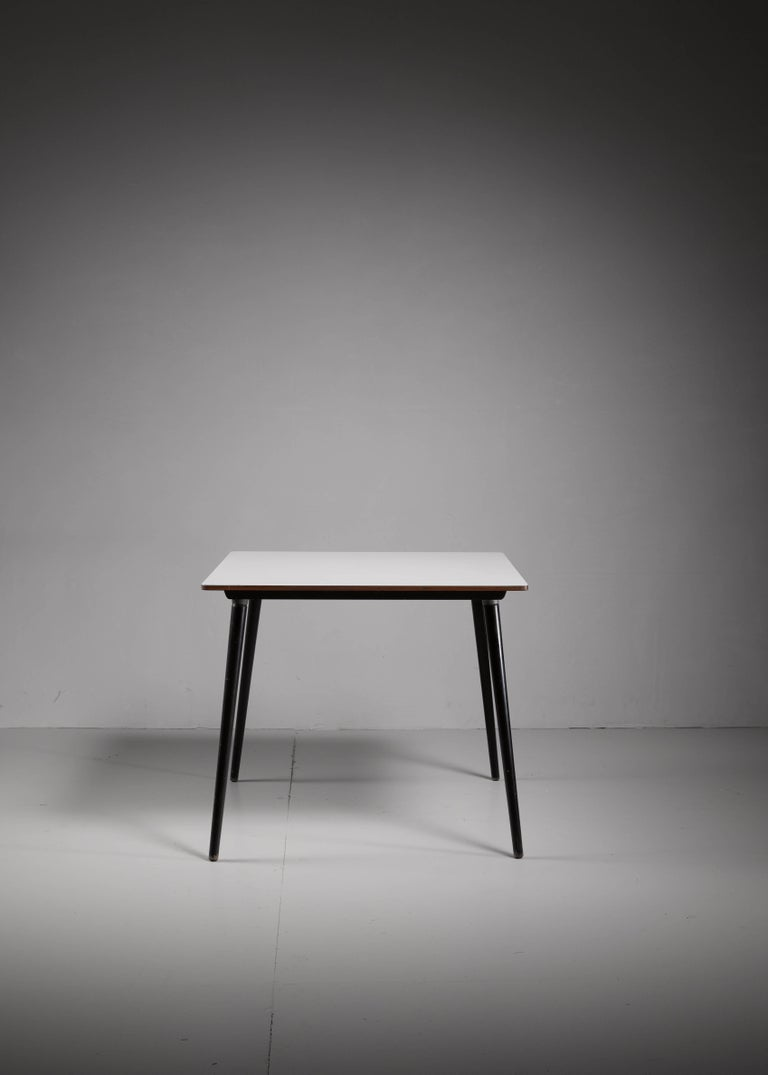 Mid-Century Modern Small Dining or Kitchen DTW Table by Charles Eames for Herman Miller For Sale
