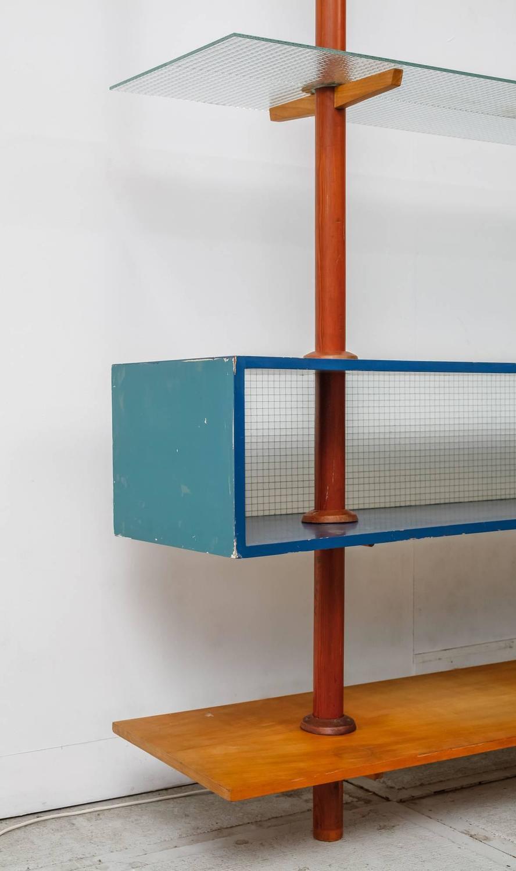Cor Alons Unique Room Divider With Shelving Dutch Circa