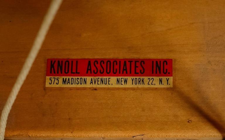 Jens risom early knoll associates chair usa 1940s for for Knoll associates