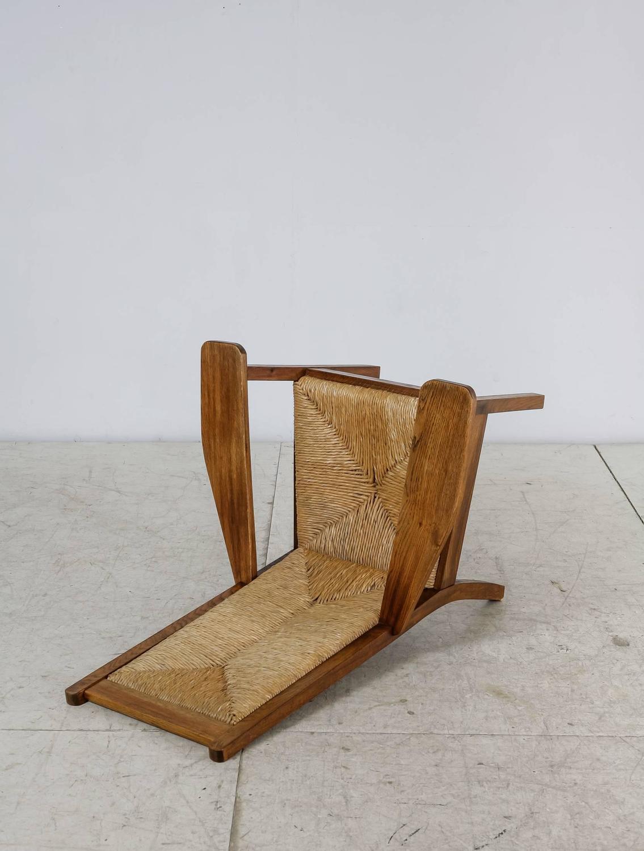 worpsweder high back armchair by willi ohler germany 1920s for sale at 1stdibs. Black Bedroom Furniture Sets. Home Design Ideas