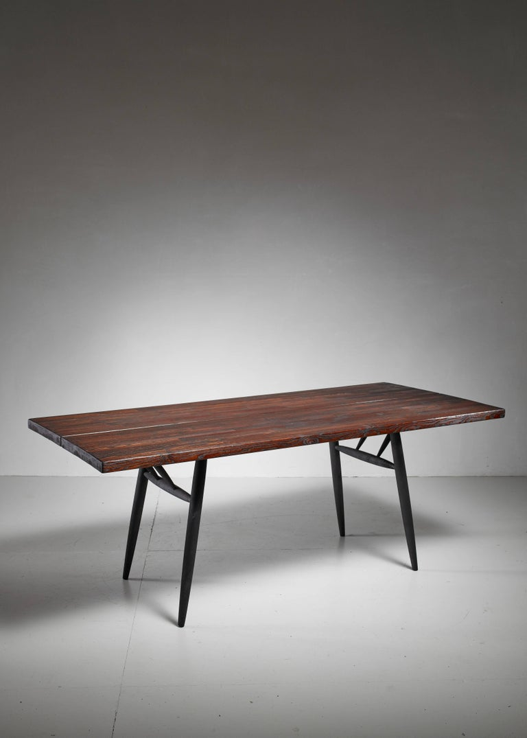 Scandinavian Modern Ilmari Tapiovaara Dining Table for Laukaan Puu, Finland, 1950s For Sale