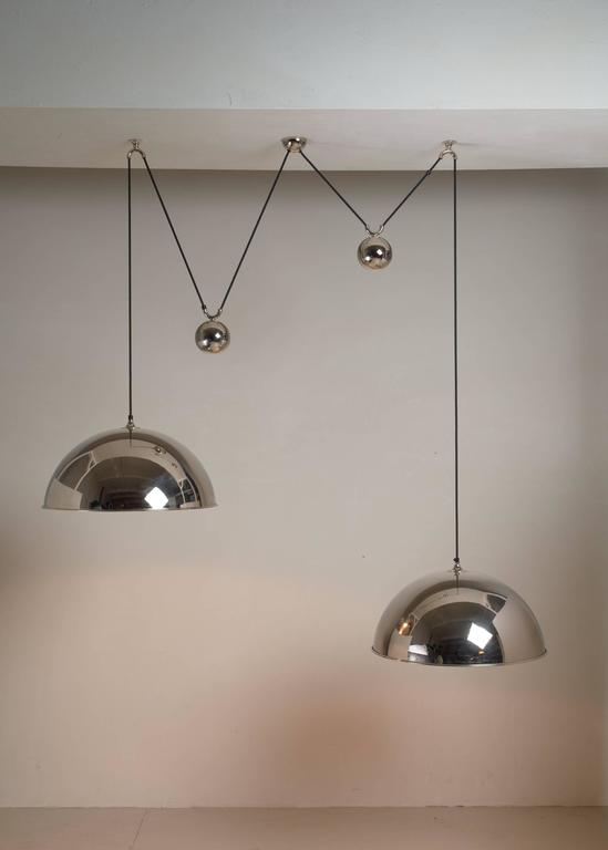 Florian Schulz Double Nickel Posa Pendants with Counterweights, Germany For Sale 1