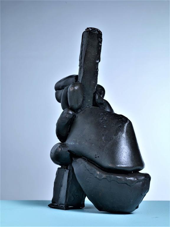 American Gene Caples Welded Bronze Sculpture, USA For Sale