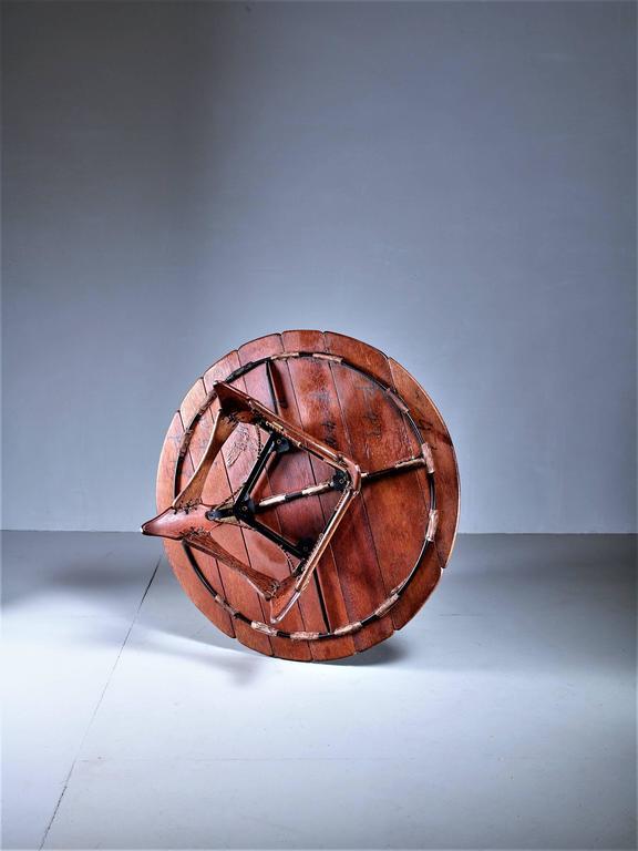 American Craftsman Studio Crafted Palmwood Coffee Table, Australia For Sale