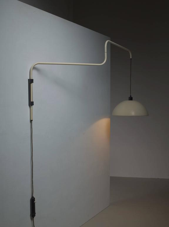 Adjustable Height Wall Lamps : Swiveling, Height-Adjustable Wall Lamp, 1950s For Sale at 1stdibs