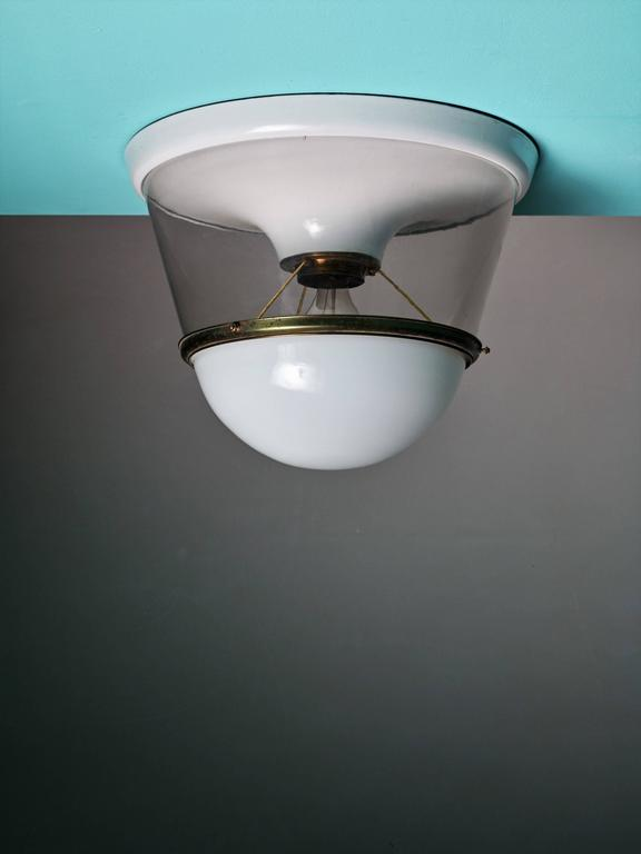 Ceiling Lights Very : One of two very large and early modernist ceiling lamps