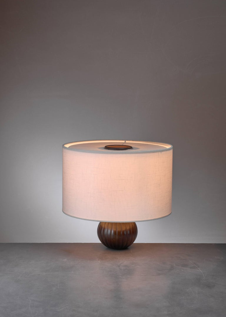 Just Andersen Metal Table Lamp, Denmark, 1930s In Excellent Condition For Sale In Amsterdam, NL