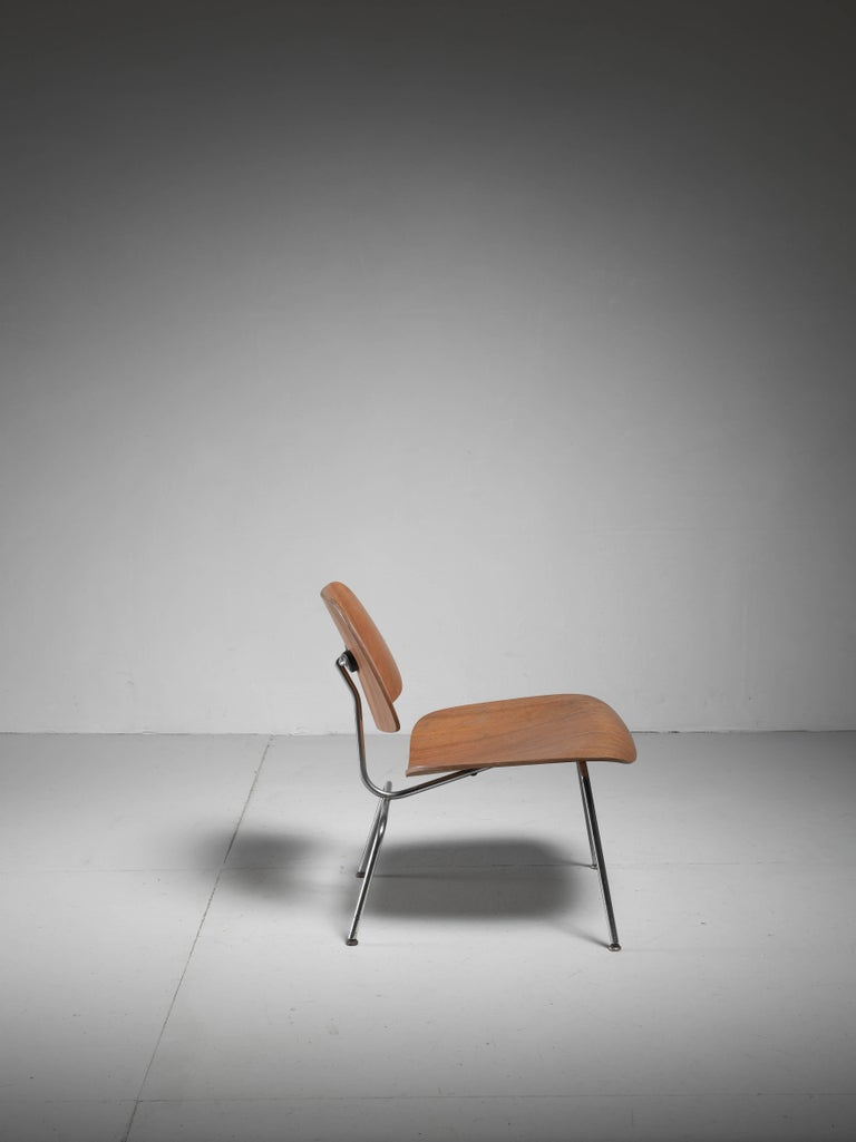 LCM Chair in Walnut by Charles Eames for Herman Miller, 1950s 3