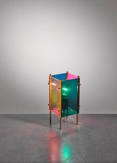 Angelo Lelli Table Lamp for Arredoluce, Italy