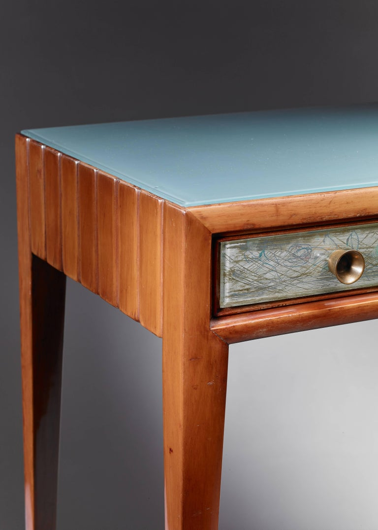 Osvaldo Borsani Unique Pair of End Tables, Italy, 1930s 6