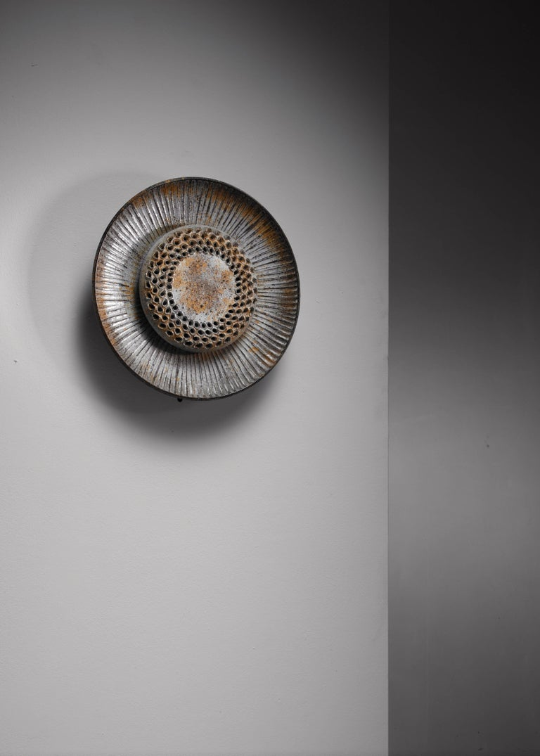 Danish Lovemose Keramik Wall Lamp, Denmark, 1960s For Sale