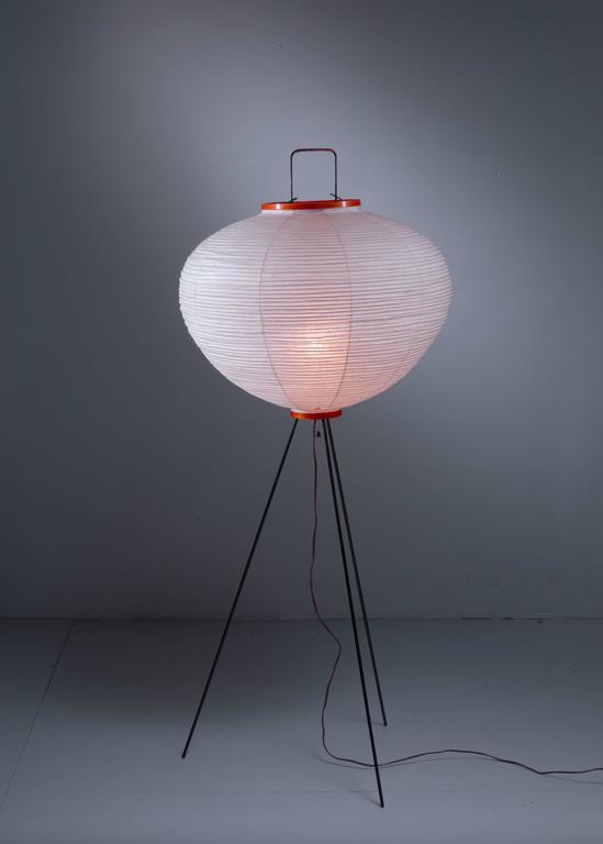 Isamu Noguchi Floor Lamp by Gifu Japan in Original Packing ...
