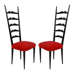 Pair of Paolo Buffa Hall Chairs