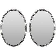 Pair of Large Irish Mirrors