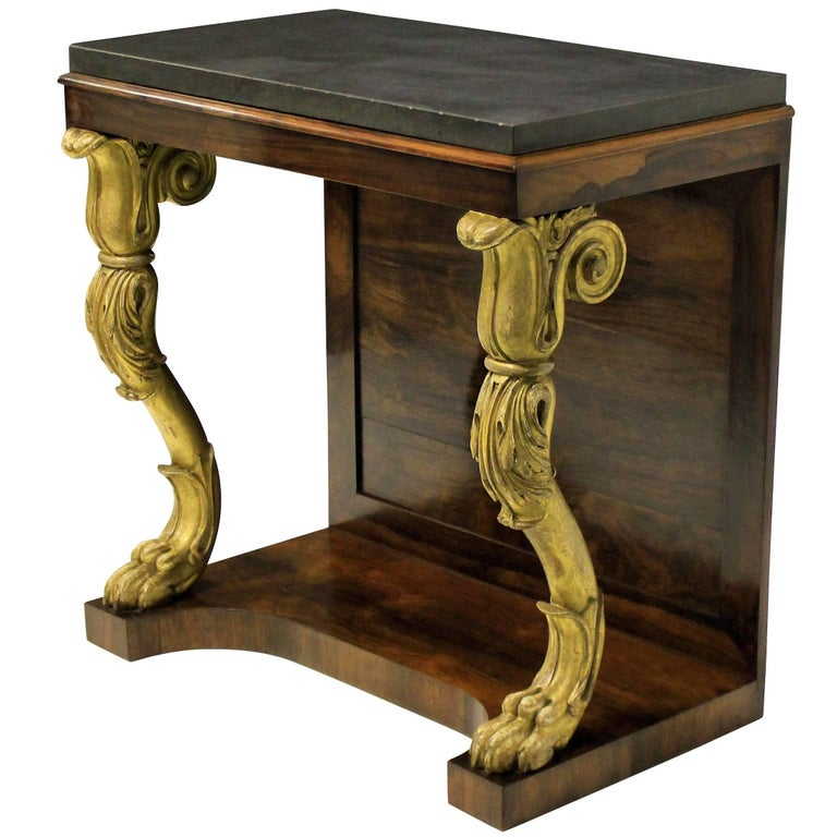 Regency Console Table For Sale