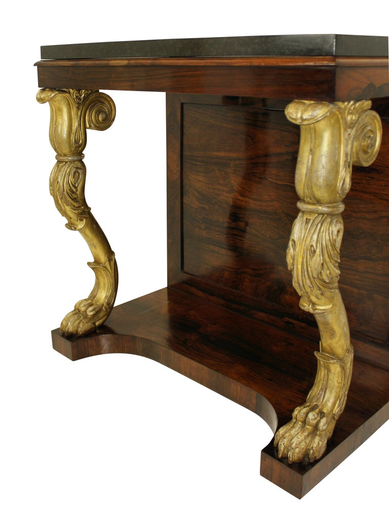 Regency Console Table In Good Condition For Sale In London, GB