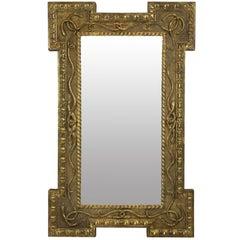 Regency Mirror Depicting Serpents