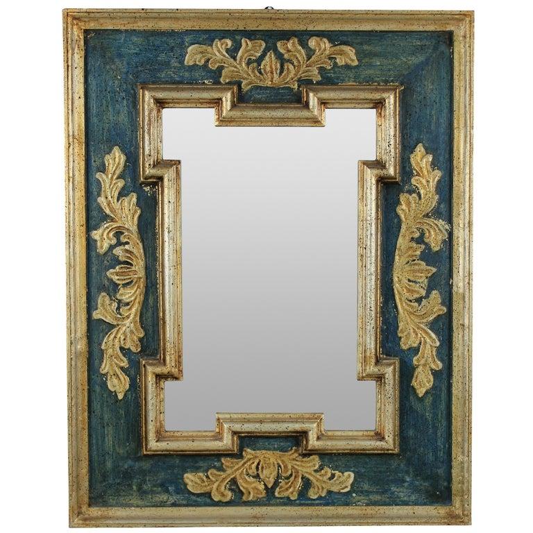Midcentury Florentine Mirror